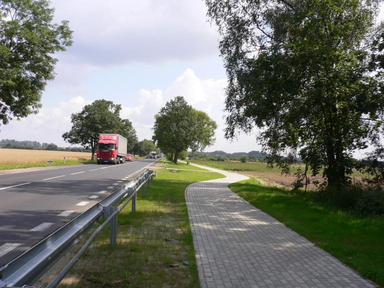 Budowa drogi w Poznaniu